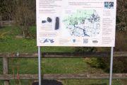 Geschichte am Wegrand - Eine Geschichtstafel in Pfistersham